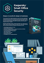 KASPERSKY SMALL OFFICE SECURITY - Veri Sayfası
